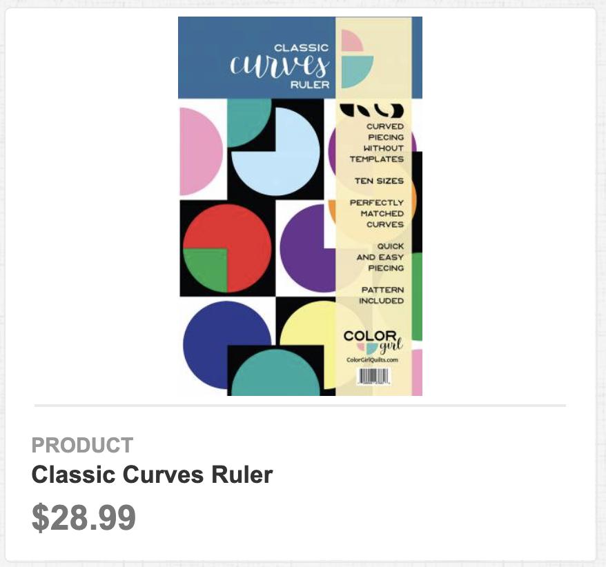 Classic Curves Ruler