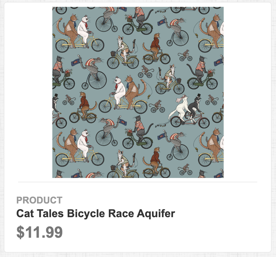 Cat Tales Bicycle Race Aquifer