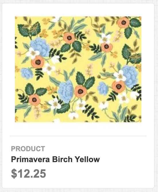 Primavera Birch Yellow
