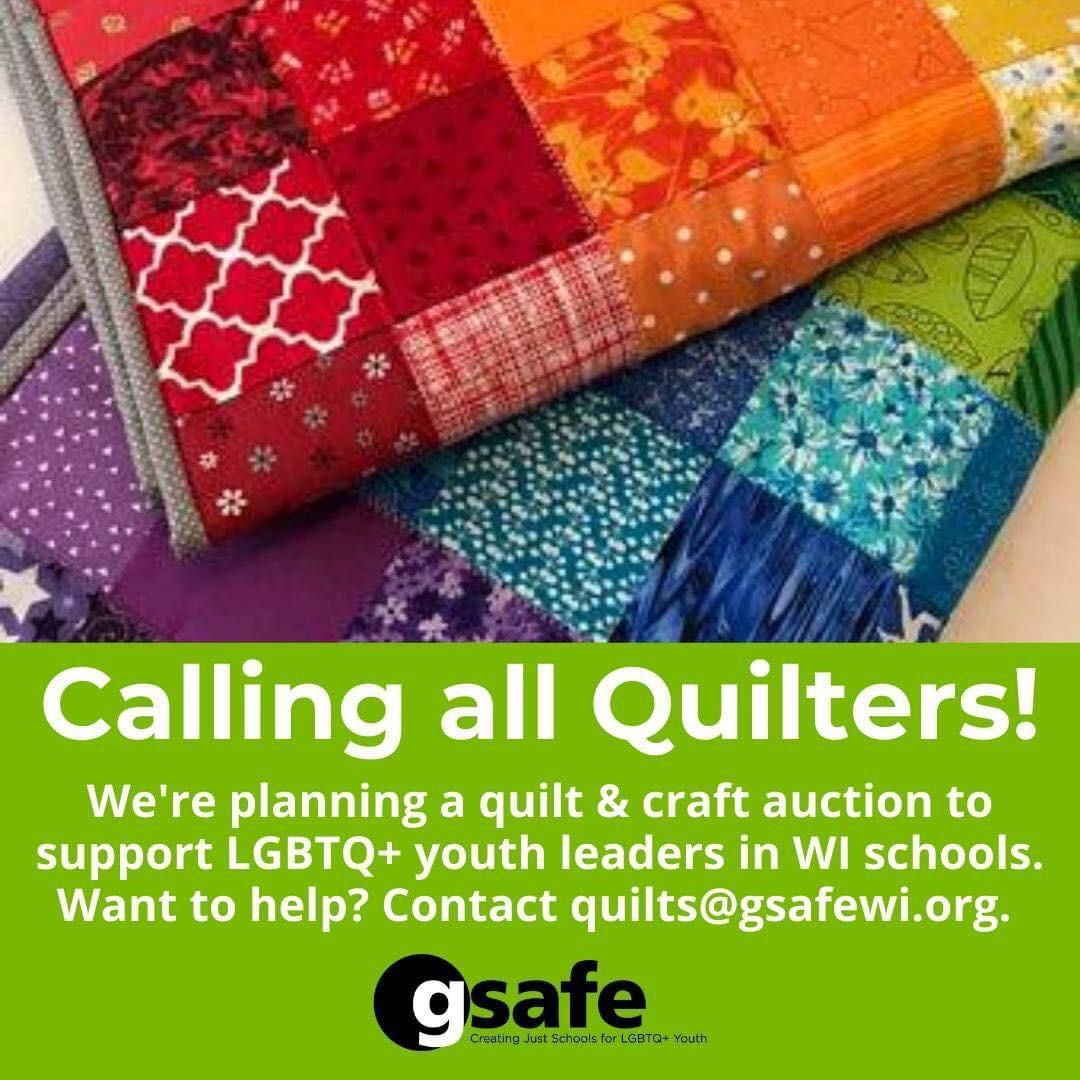 Donate to G-Safes Quilt Auction