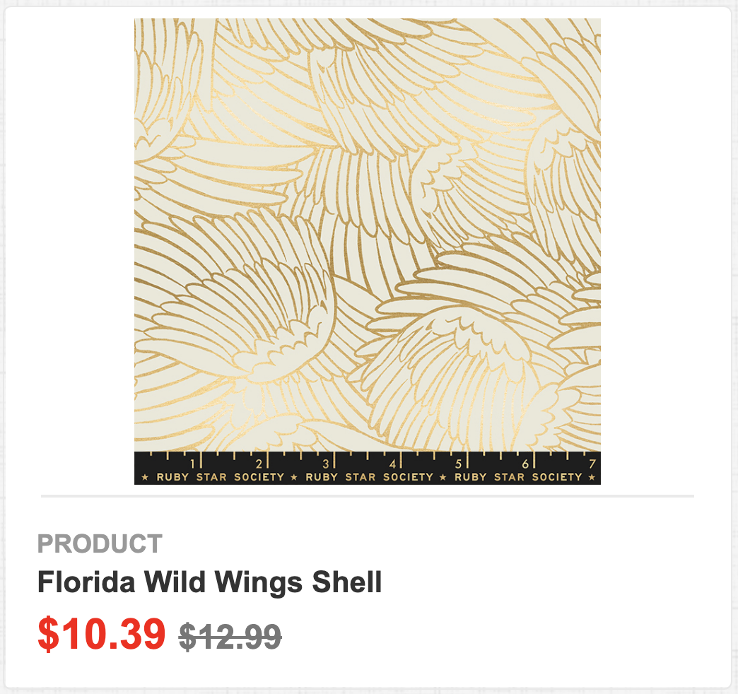 Florida Wild Wings Shell