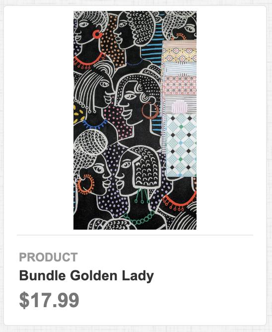 Bundle Golden Lady