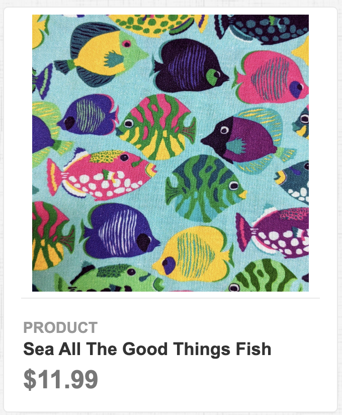 Sea All The Good Things Fish