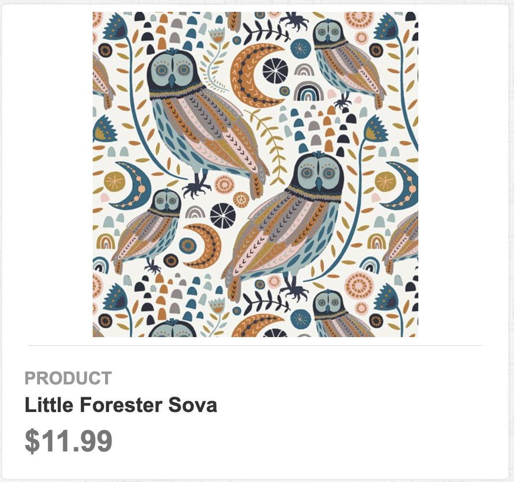 Little Forester Sova