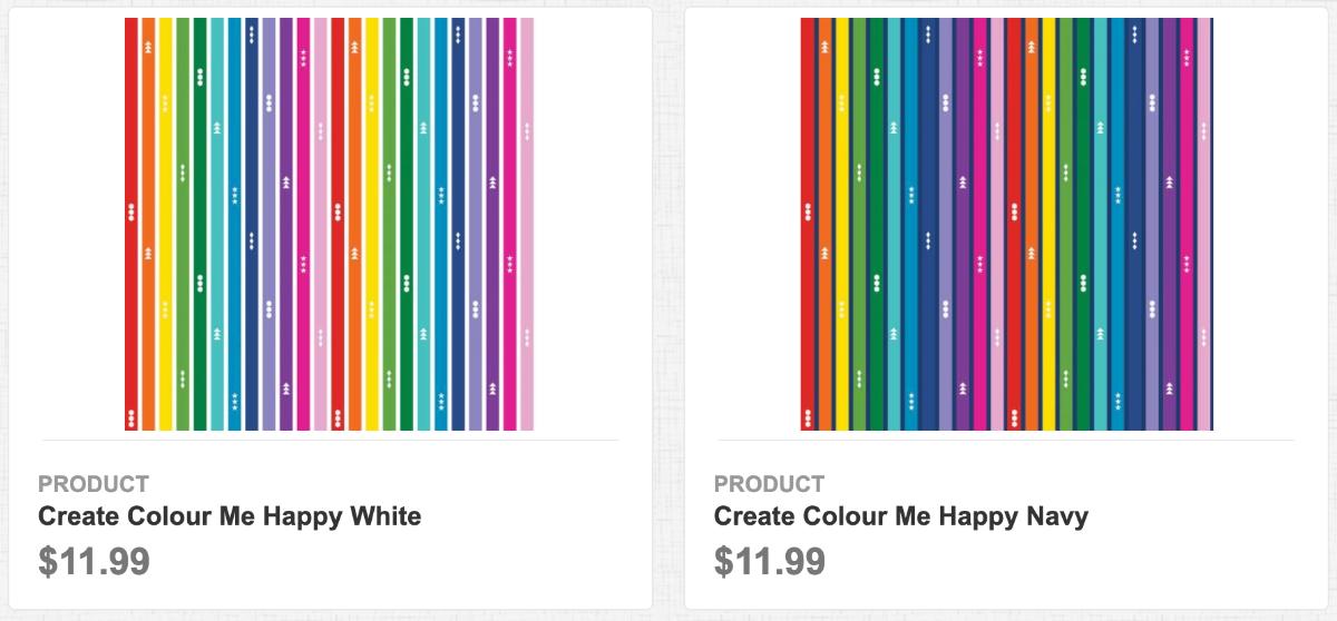Create Colour Me Happy