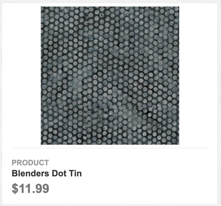 Blenders Dot Tin