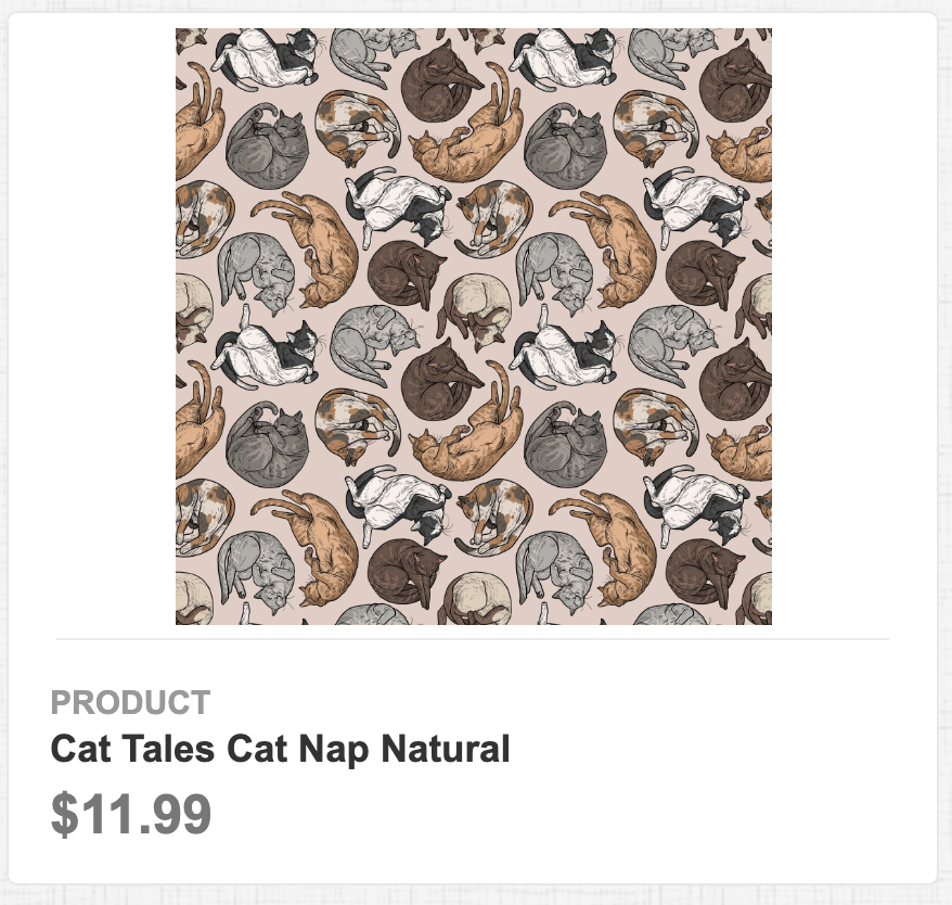 Cat Tales Cat Nap Natural