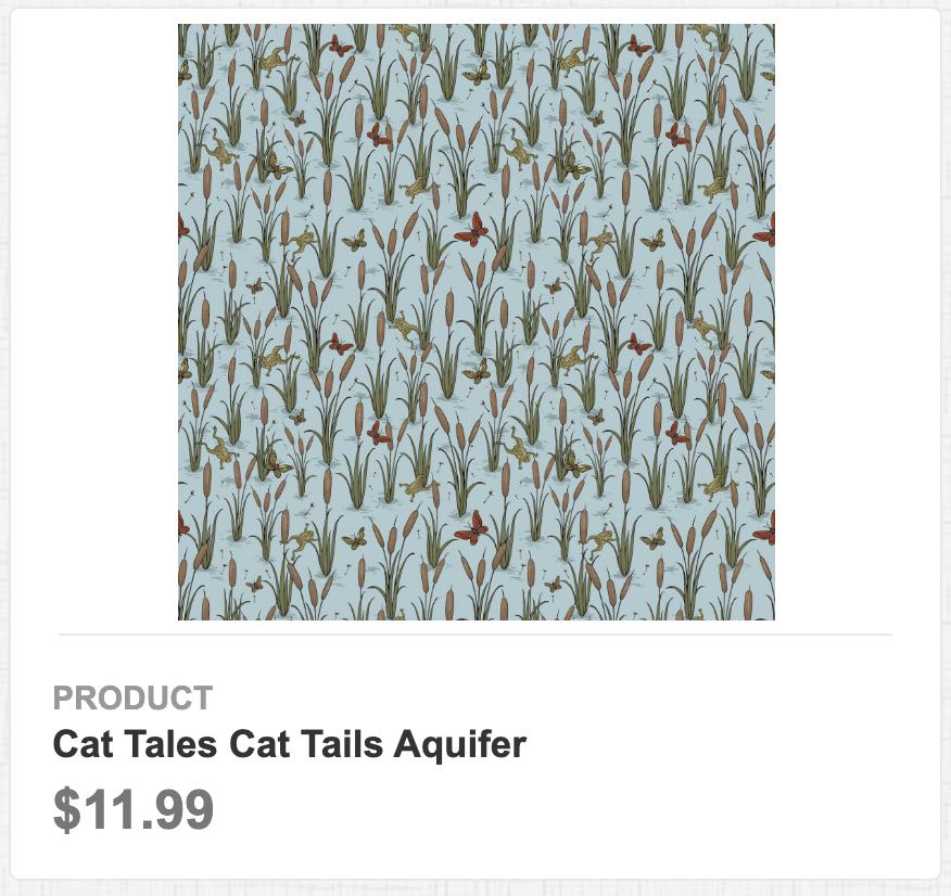 Cat Tales Cat Tails Aquifer