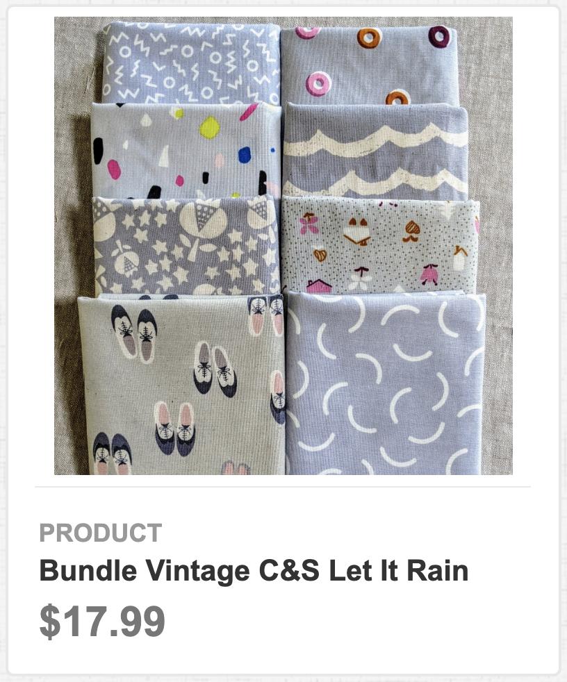 Bundle Vintage C&S Let It Rain