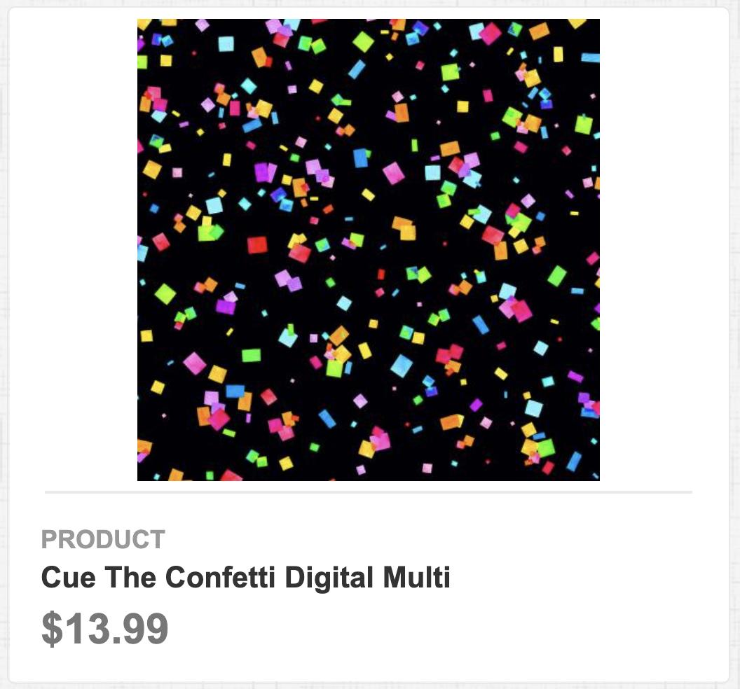 Cue the Confetti Digital Multi