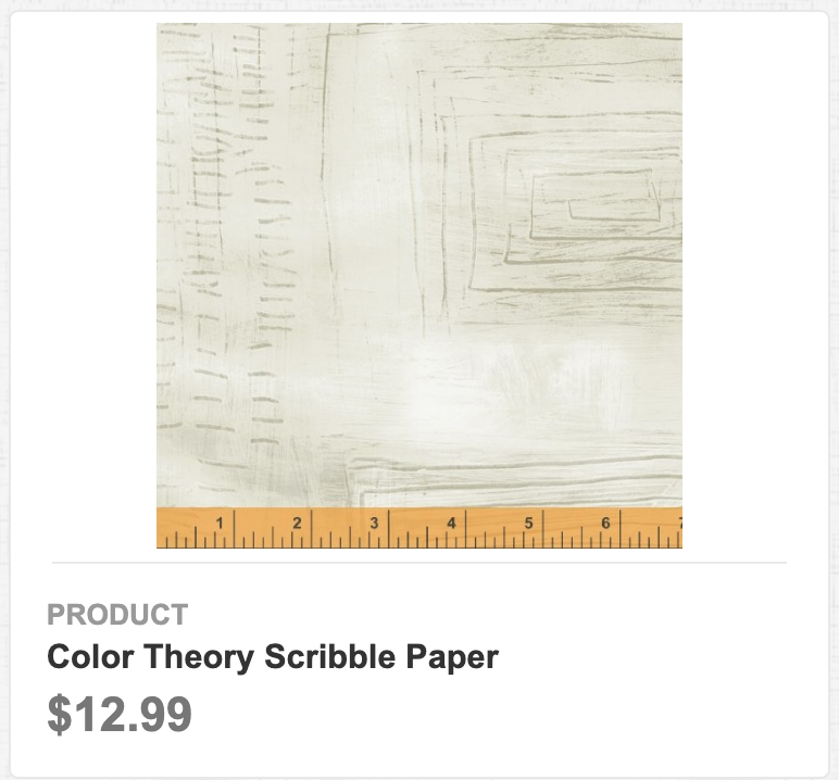 Color Theory Scribble Paper