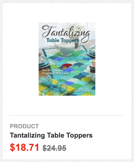 Tantalizing Table Toppers