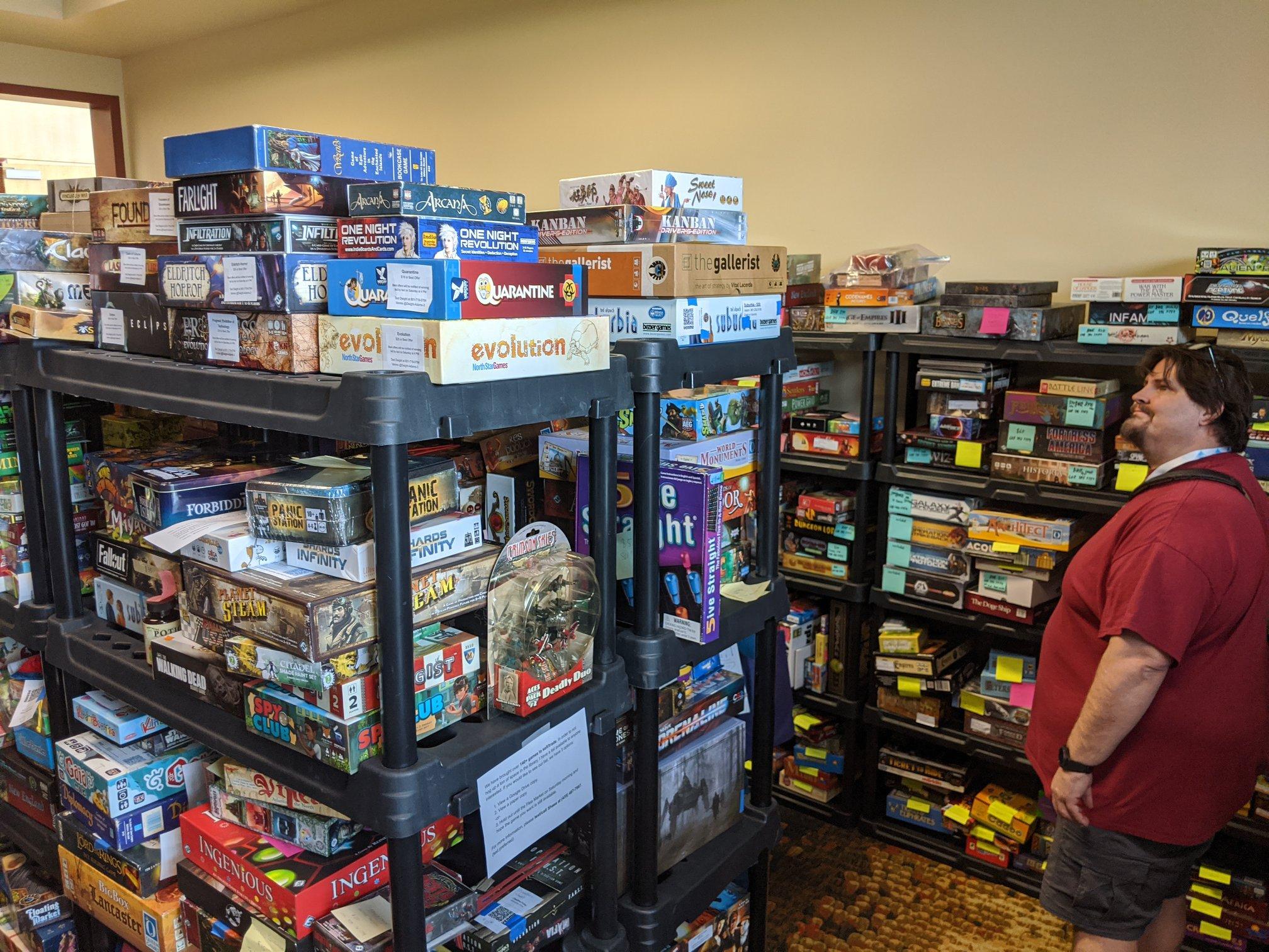 Game Swap Game Shelves