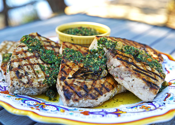How to Grill the Perfect Fish Steak