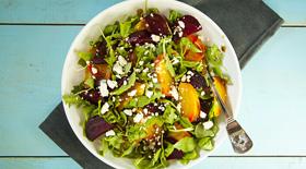 Smoke-Roasted Beet Salad