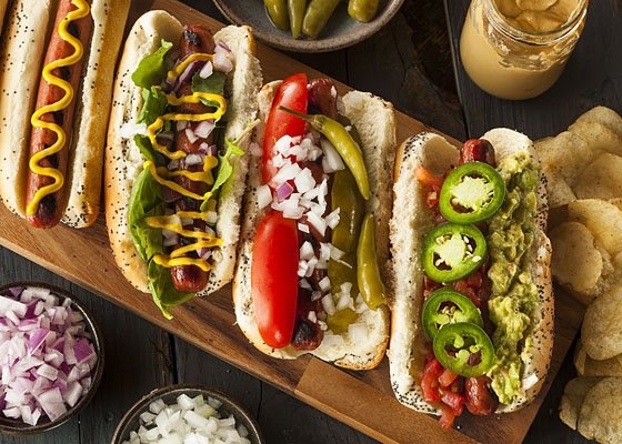 Host A Safe Labor Day Cook-Out With Hot Dogs And Brats