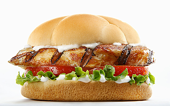 Better Than Popeyes: Grilled Chicken Sandwich with Spicy Sauce