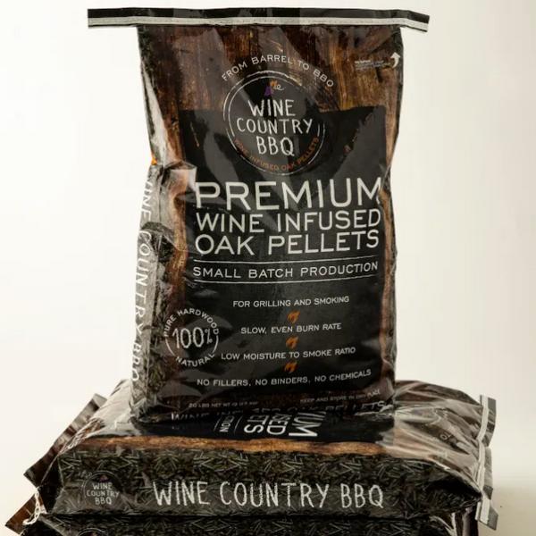 Wine Infused Oak Pellets