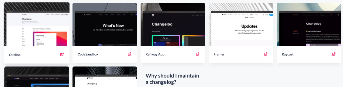 Image Outil Changelogs