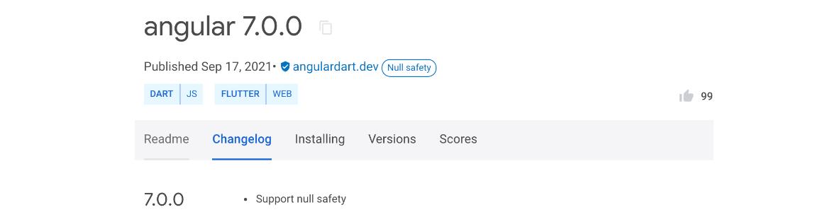 Image AngularDart finally switches to null safety