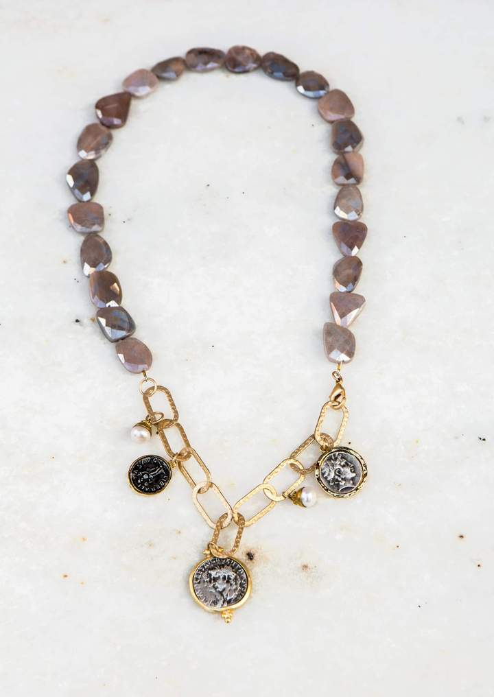 BUDDHA CHARMS NECKLACE