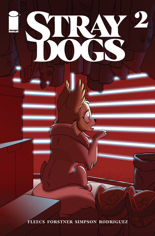 Stray Dogs #2 Second Printing