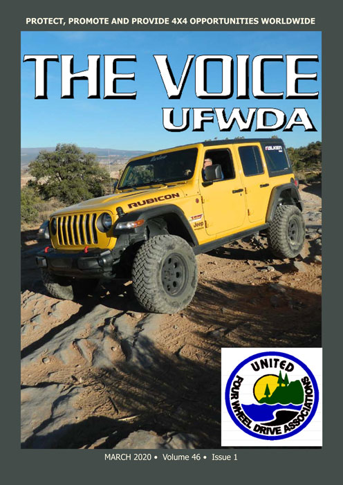 March 2020 cover of UFWDA Voice
