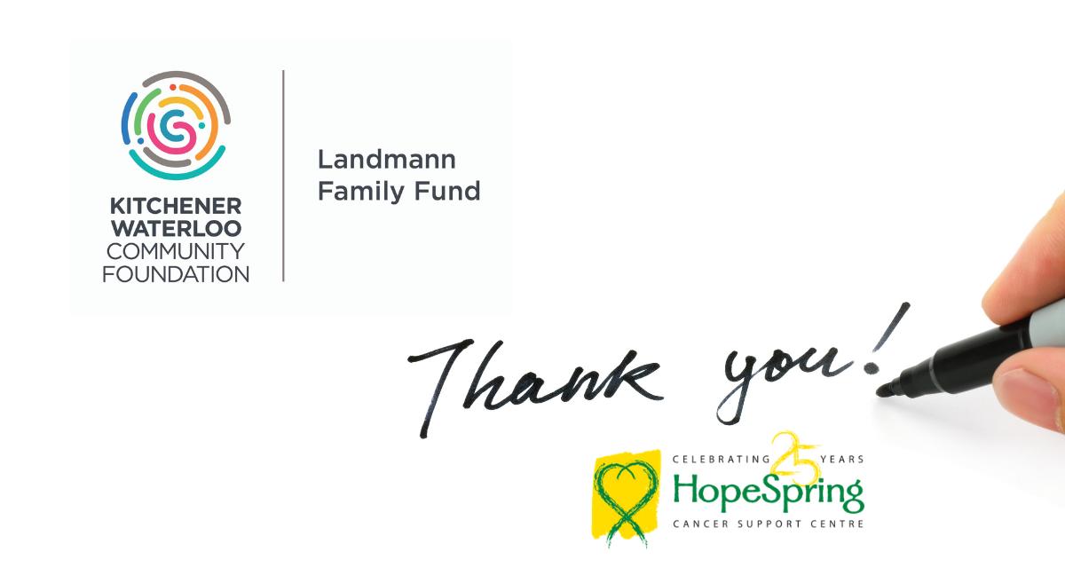 Landmann Family Fund Grant for HopeSpring