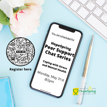 Peer Support Chat Series, Coping with Stress and Mental Health