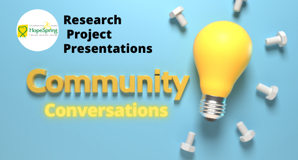 Community Conversations Research Project Presentation