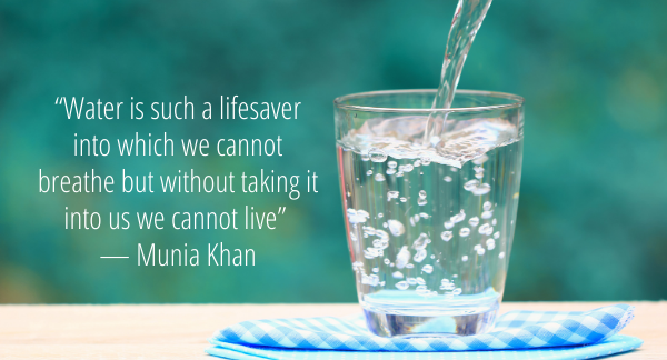 Water quote by Munia Khan