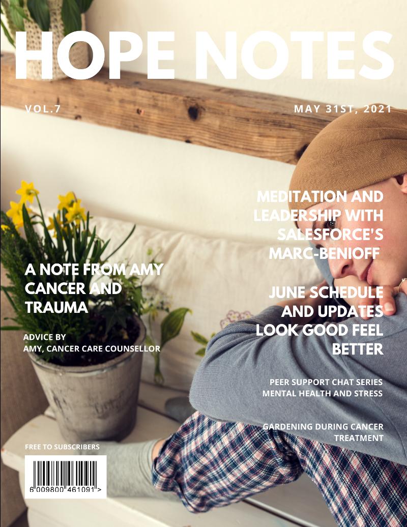 HopeNotes Newsletter Cover