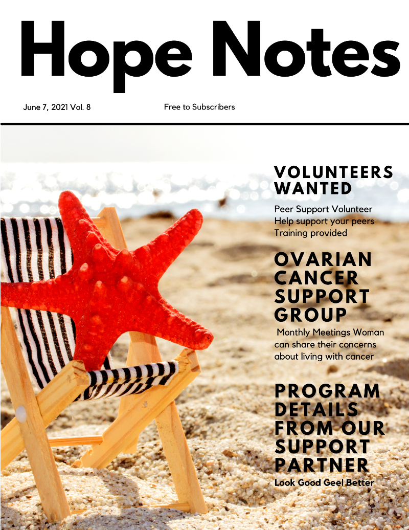 Hope Notes HopeSpring Weekly Newsletter