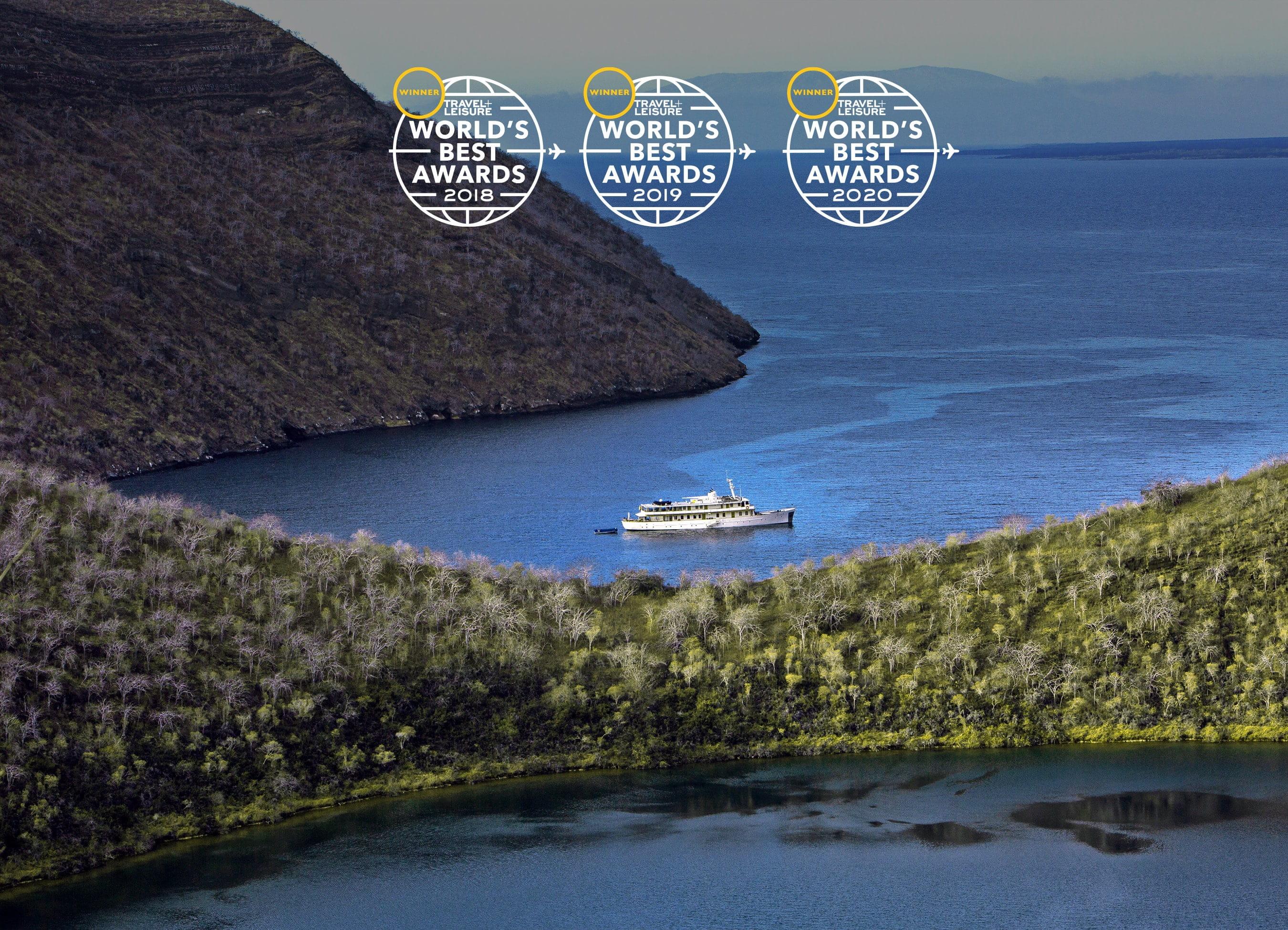 Award-Winning Galapagos Small Ship Cruises