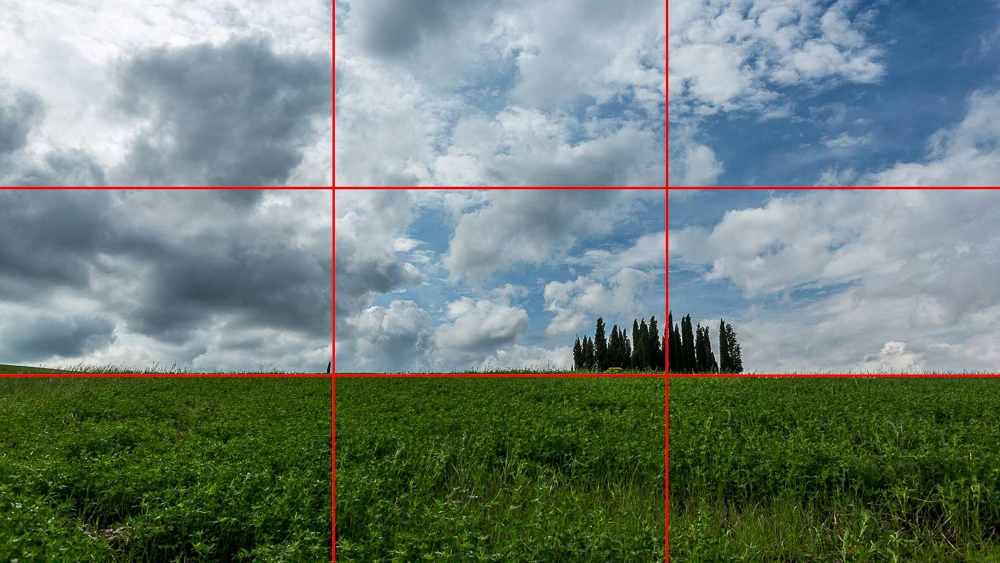 Rule of thirds - Composition in photography