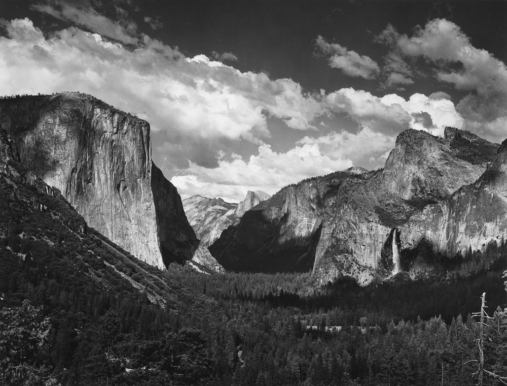 Landscape photography - Ansel Adams