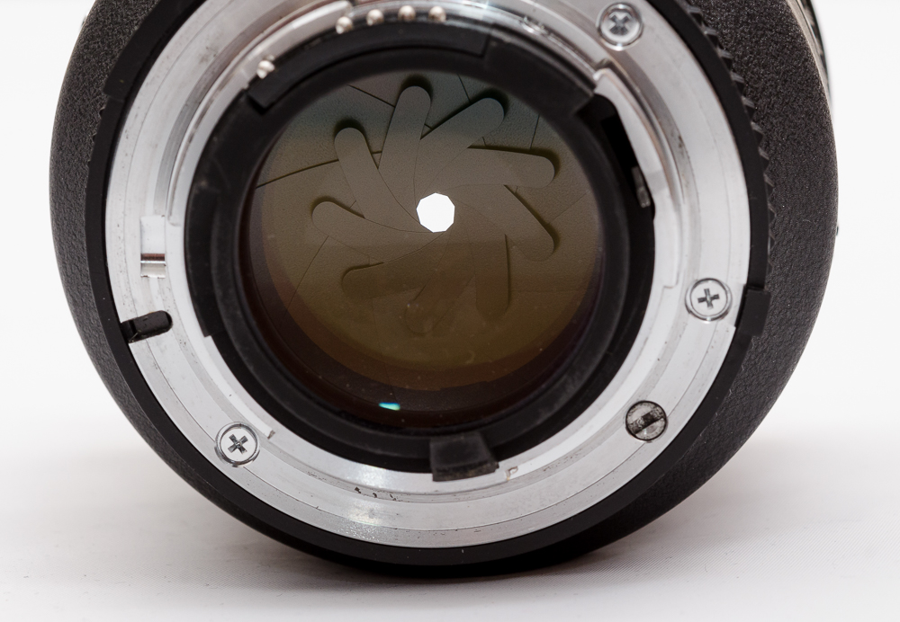 Photography courses - Aperture of a lens