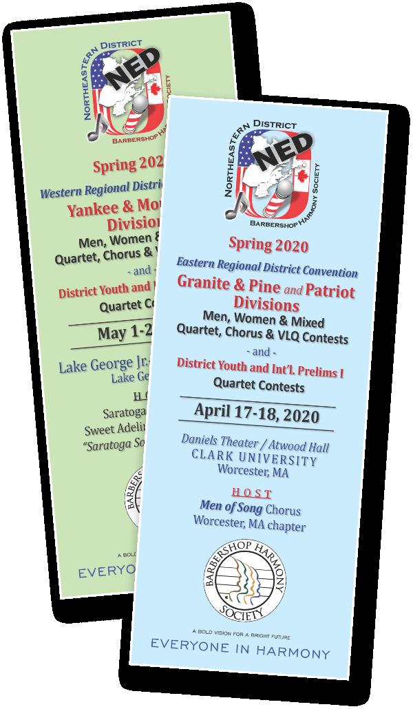 2020 Spring Contests - PROGRAM ADS