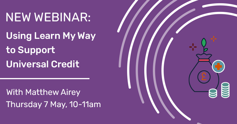 Using Learn My Way to Support Universal Credit