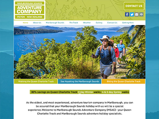 Marlborough Sounds Adventure Company