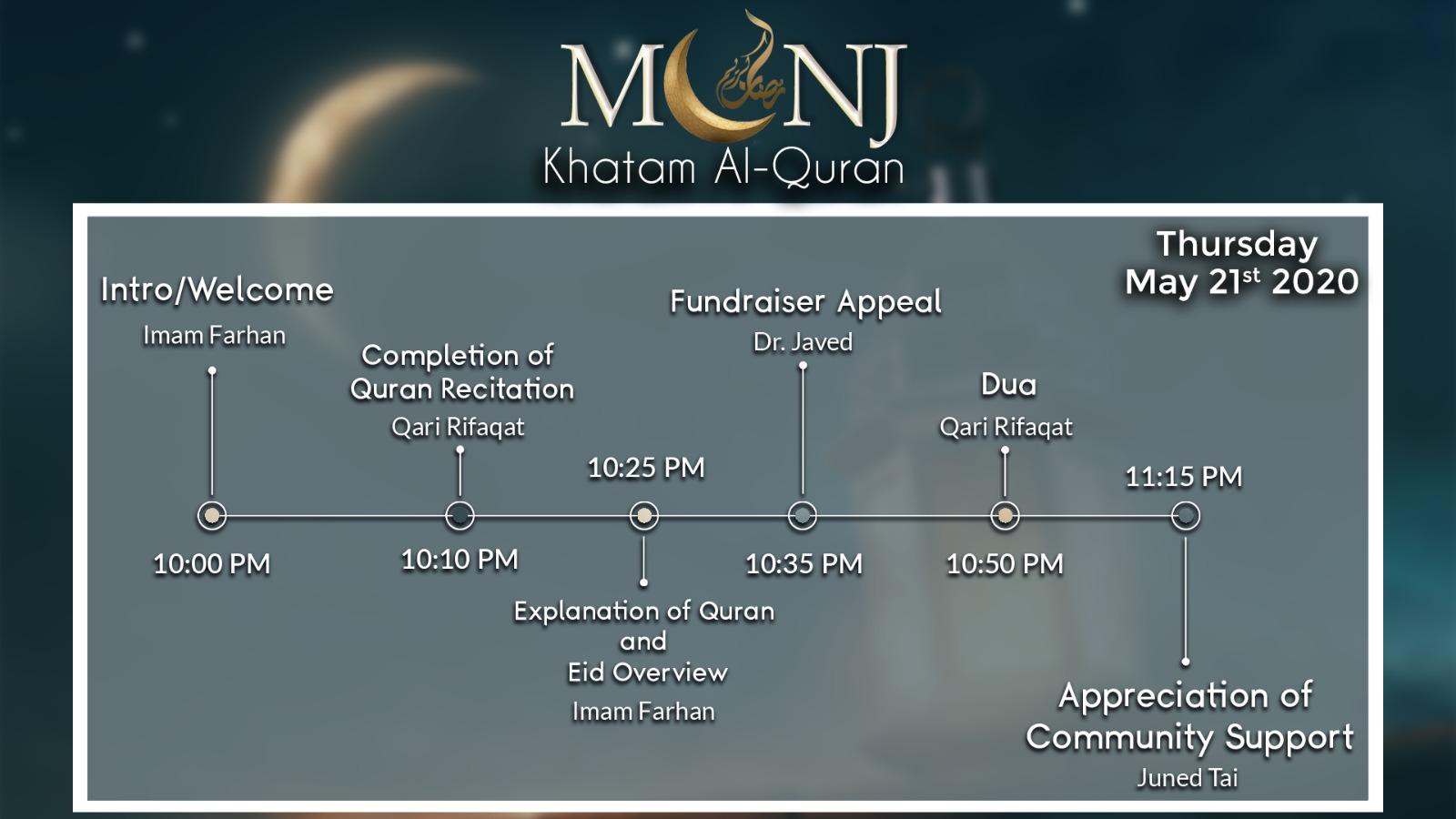 MCNJ Khatam-AL-Quran
