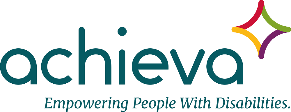 Achieva logo with tag line Empowering People with Disabilities