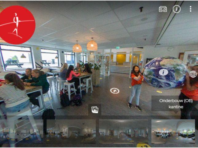 Bekijk onze school in de VR Tour