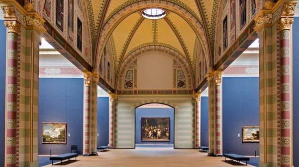 gang van het Rijksmuseum naar de Nachtwacht