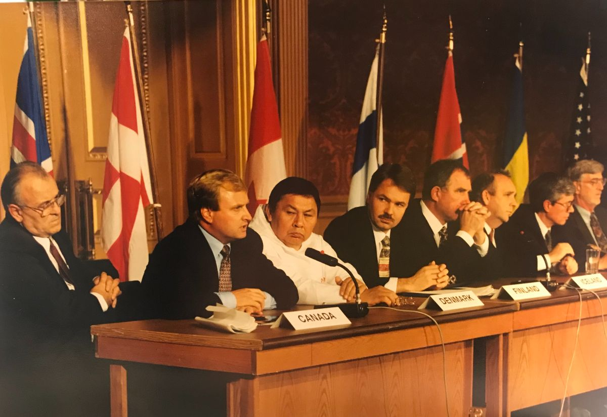 Inauguration of the Arctic Council in Ottawa