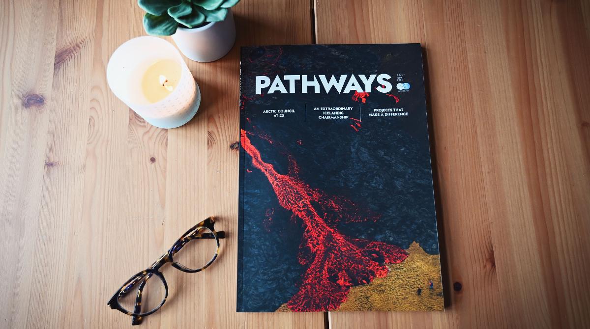 Pathways magazine cover