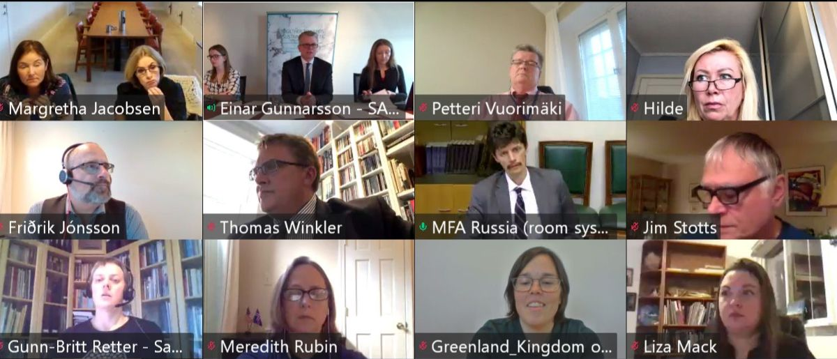 Screenshot of the SMM participants