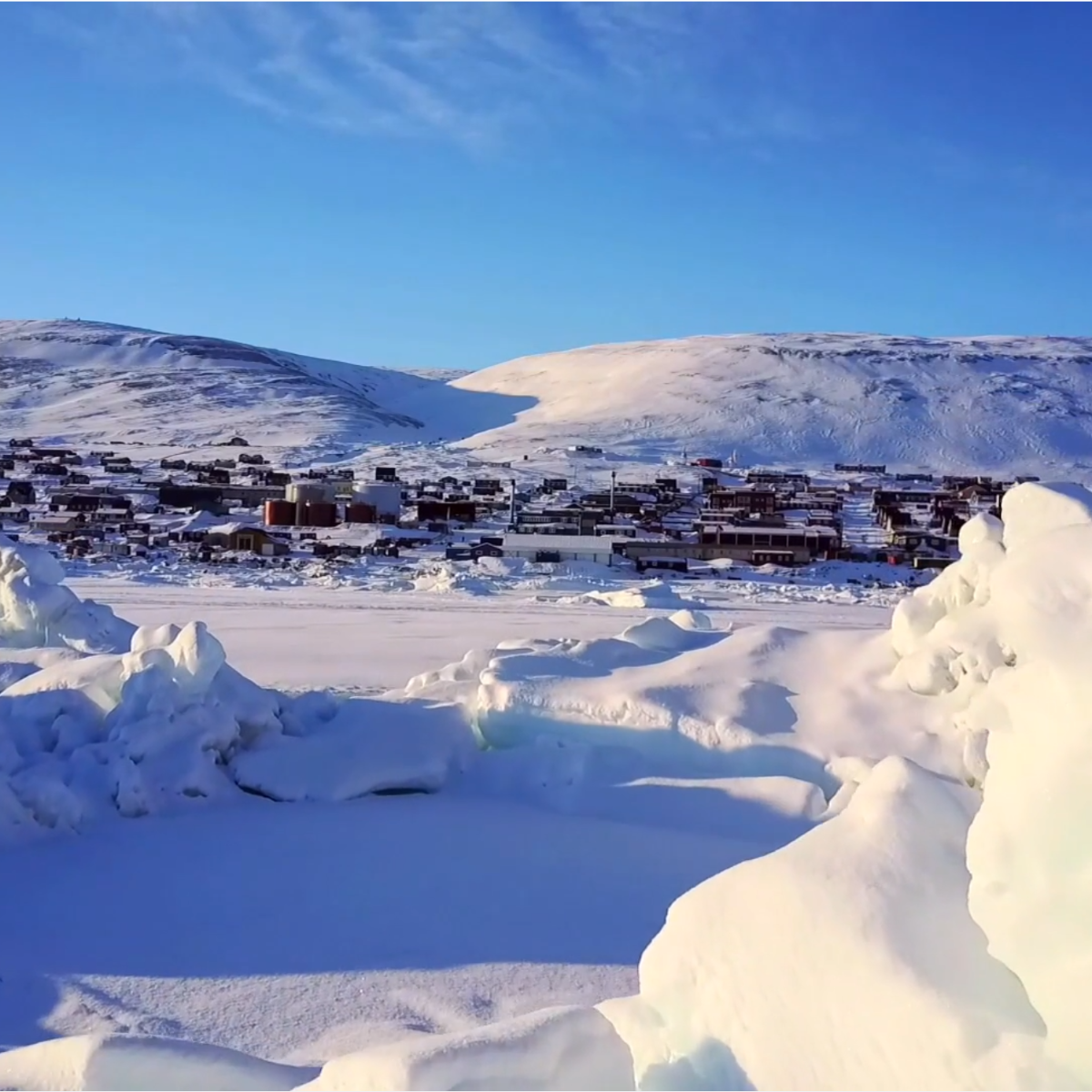 Arctic town