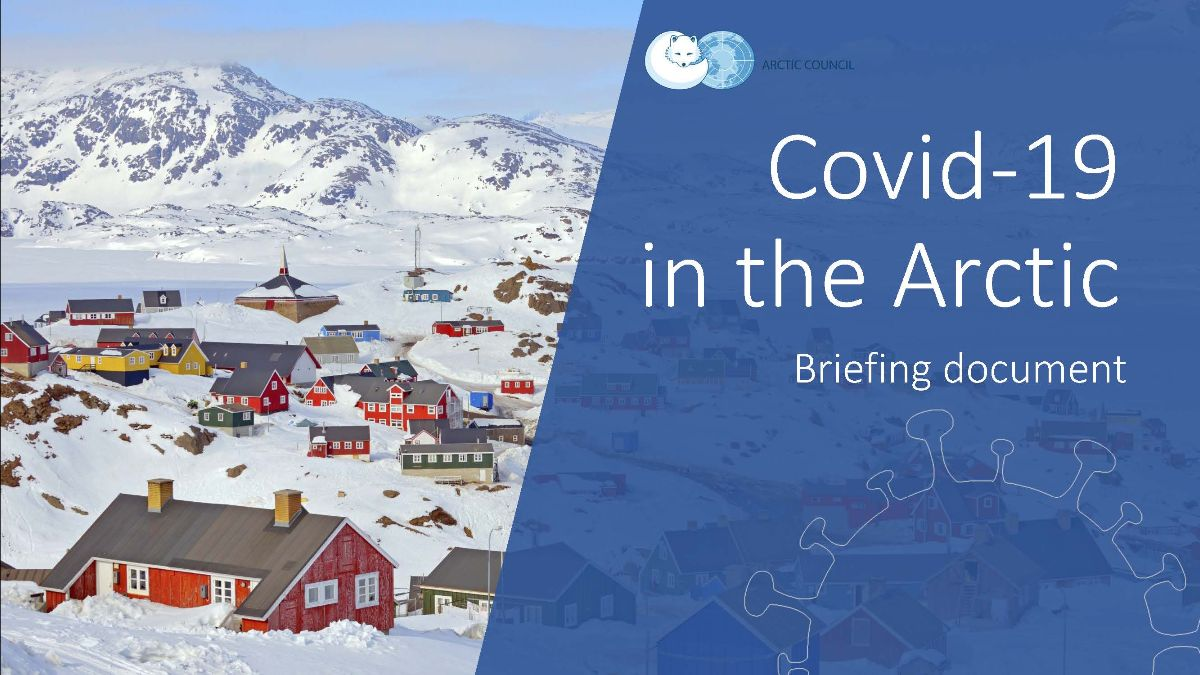 Covid-19 in the Arctic cover