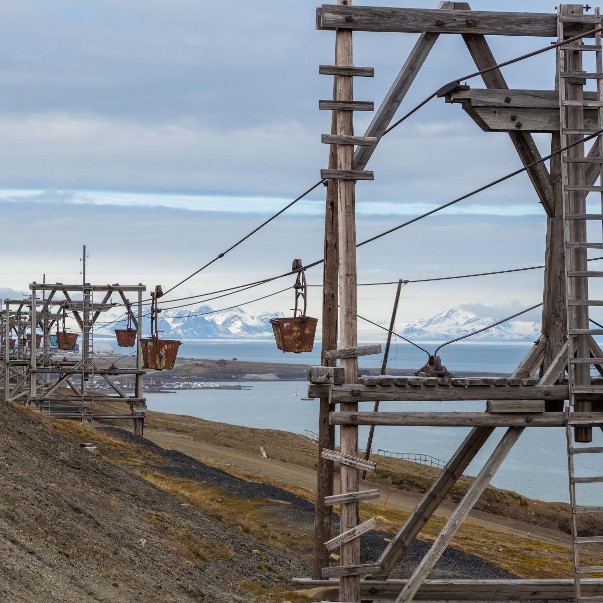 Longyearbyen mining infrastructure
